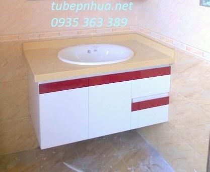 Mẫu tủ lavabo nhà cô Hồng - KDT Nam An Khánh